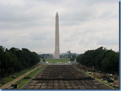1395 Washington, DC - Washington Monument  from Lincoln Memorial
