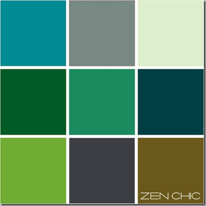 Color scheme green