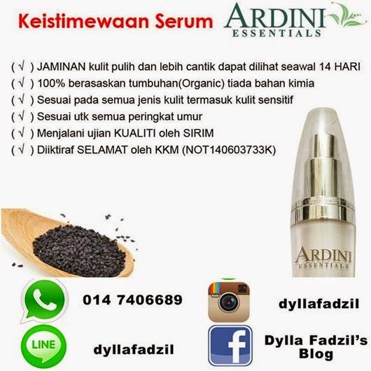 Ardini Serum RM90