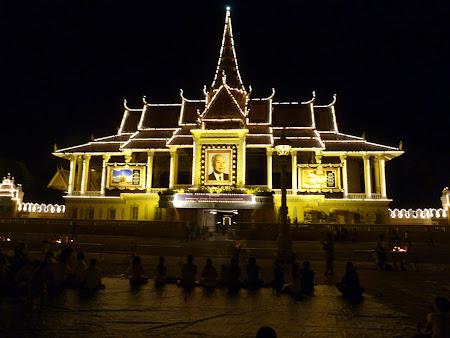 Obiective turistice Cambogia: Palatul Regal Phnom Penh