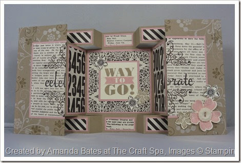 Double Display Birthday Card for Shelli, Amanda Bates at The Craft Spa (1)
