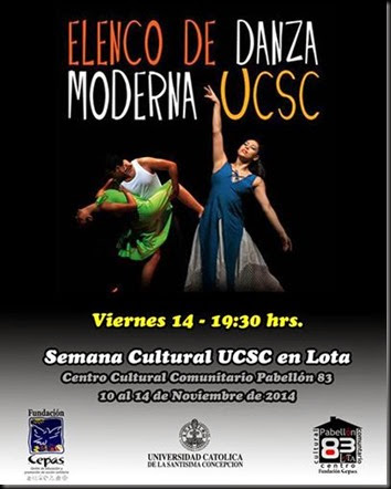 Afiche Danza