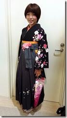 謝恩会に袴でご出席 (2)