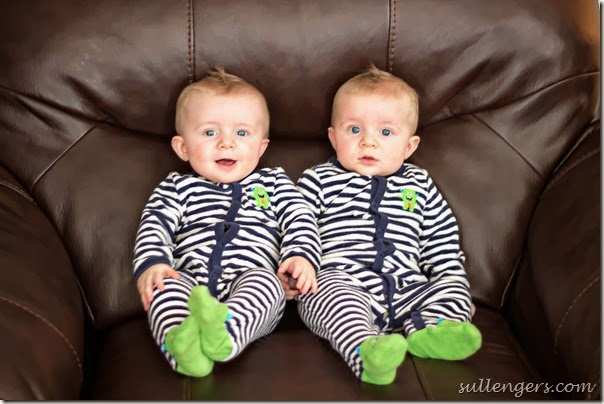 6 month old twins