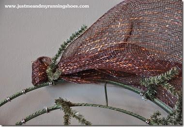 Deco Mesh Wreath 7