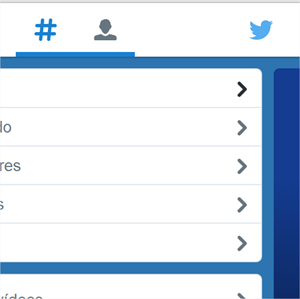 Cómo crear un menú estilo Twitter con CSS