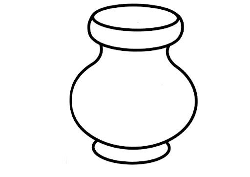 Dibujos de jarrones para colorear - Imagui