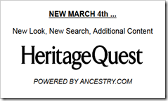 HeritageQuest is now powered by Ancestry.com
