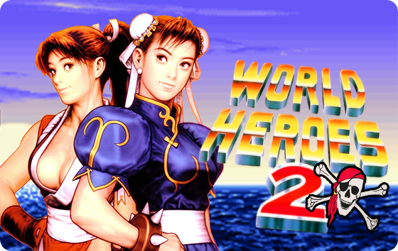 World Heroes 2 Pirata Nes - Capa