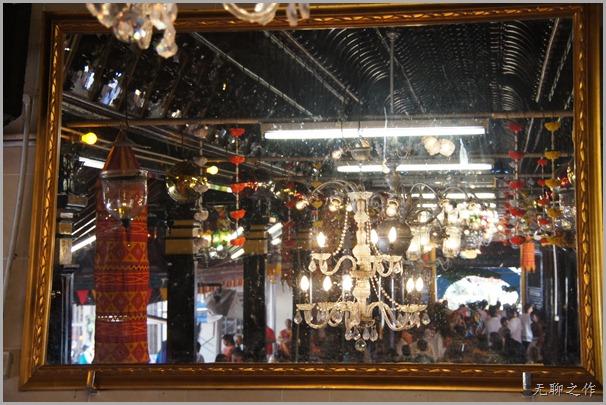 镜里看印度庙