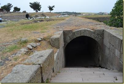 Asclepion Underground Passage Entrance