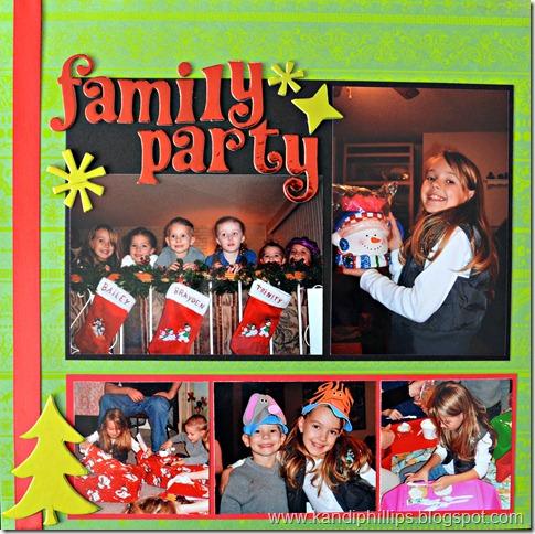 Family Party Gwynie