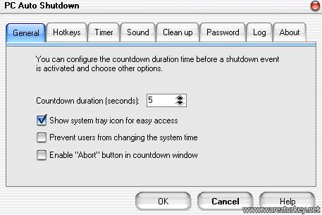 PC Auto Shutdown 6.0