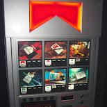 marlboro vending machine in Ginza, Tokyo, Japan