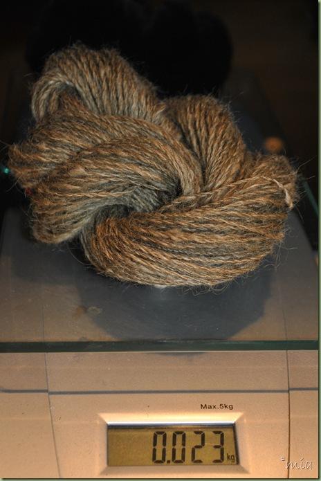 Färgad med Lawson cypress, järnspik och salt
