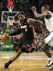 lebron james nba 130127 mia at bos 04 Boston Outlasts Miami in 2nd OT. LeBron Debuts Suede X PE!