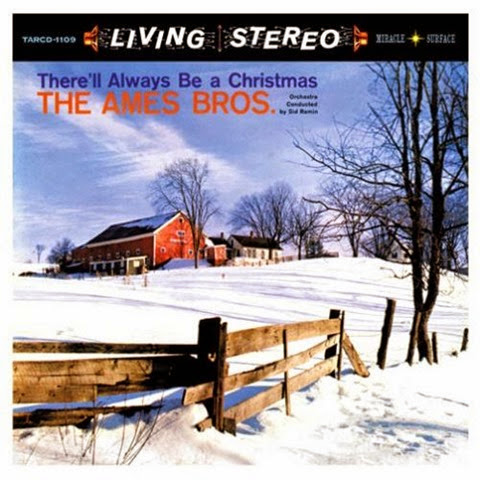 Ames Brothers - There'll Always Be A Christmas - Front