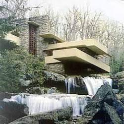07.- F. Lloyd Wright. Casa de la Cascada