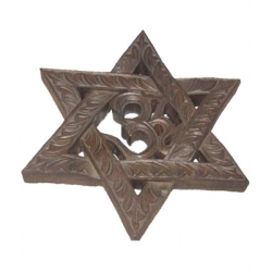 Wooden Star Hanging