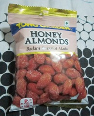 tong garden honey almonds, 240baon