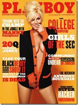 Playboy Estados Unidos - Novembro 2011