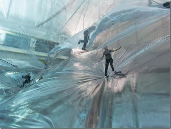 Tomás Saraceno's Plastic Aerial Playground