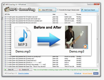 MP3 CoverTag