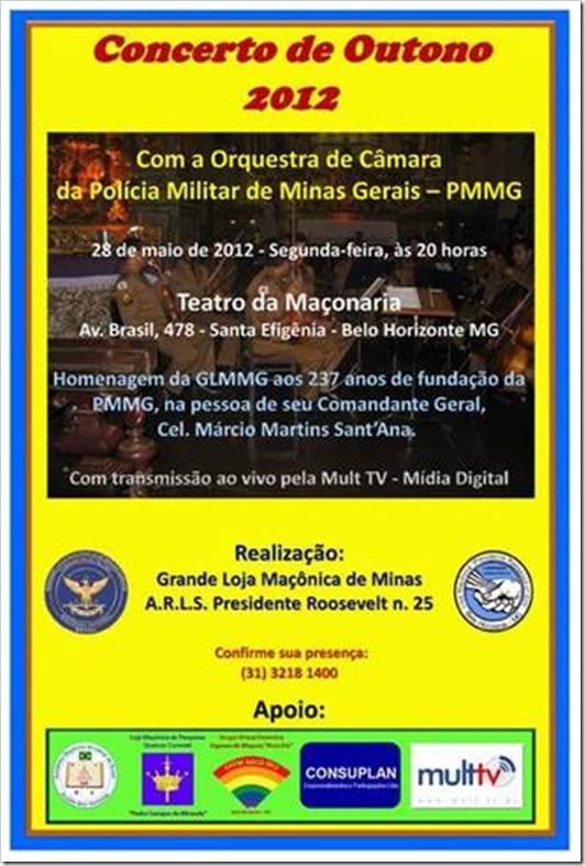 CONCERTO DE OUTONO 2012