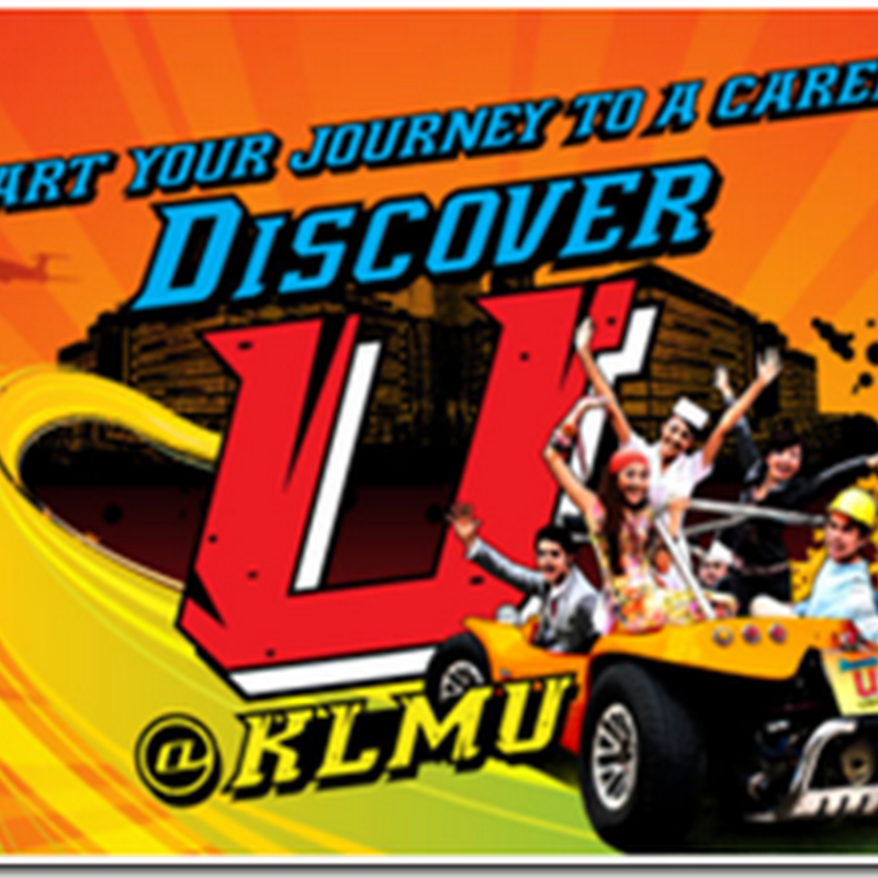 START YOUR JOURNEY TO A CAREER ! DICOVER U @ KLMU