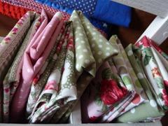 Pretty fabric stash