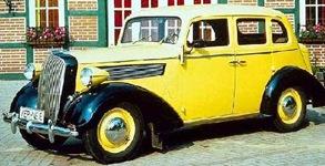 Opel Super 6 1936