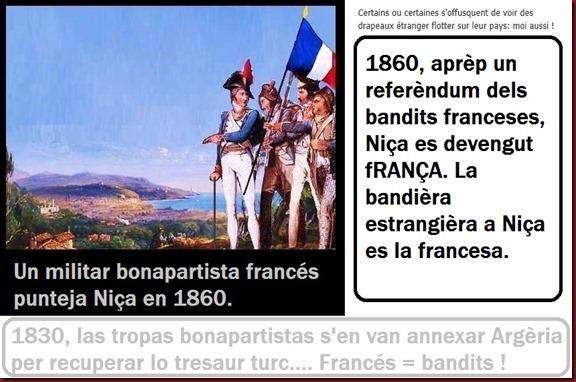 Niça annexada pels bandits franceses