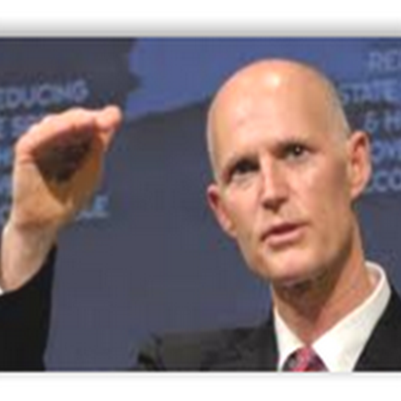 Florida Governor Rick Scott Pays $360 a Year for State Health Insurance