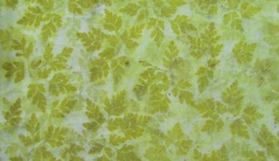 Unbekanntes Waldkraut Eco Print auf Wolle