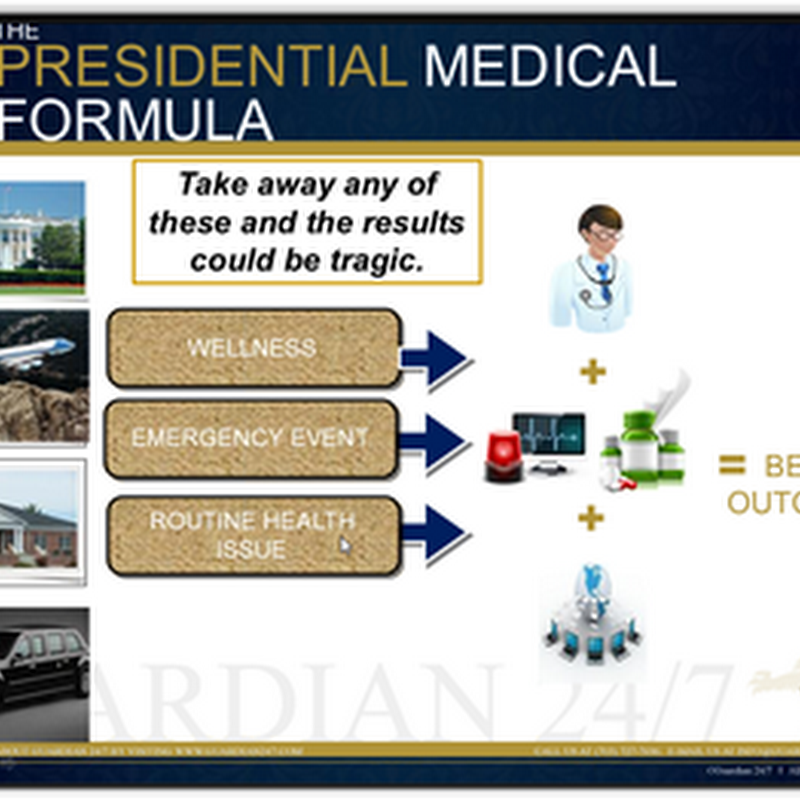 The Presidential Medical Formula–Self Contained Medical Clinics All Controlled Remotely By Doctors Located in Residences and Ocean Containers