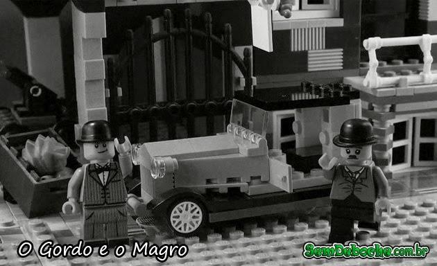 FILMES RECRIADOS EM LEGO: O GORDO E O MAGRO!
