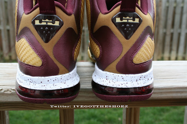 Detailed Look at Nike LeBron 9 8220Christ the King8221 Away PE