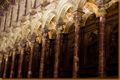 Toledo, Cathedral, choir stalls