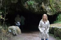 Dani at the cave