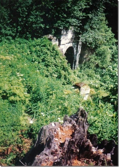 West Portal of the old Cascade Tunnel in 1994