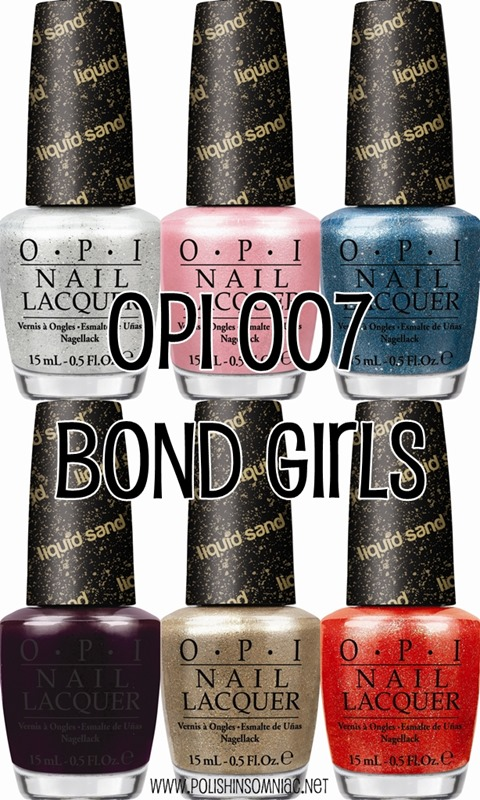 OPI BOND 007