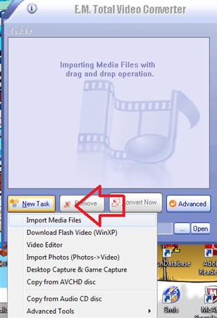 แปลงไฟล์วีดีโอเป็นแฟลชด้วยโปรแกรม total video converter