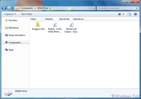 GMail Drive - Hospede seus arquivos no GMail