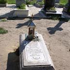 Место погребения отца Кукши на монастырском кладбище