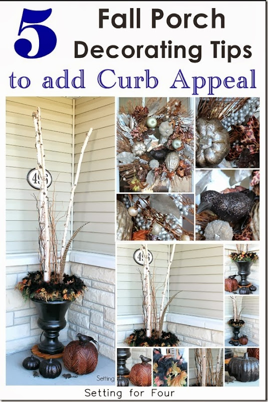 5 Fall Porch Decorating Tips for Curb Appeal
