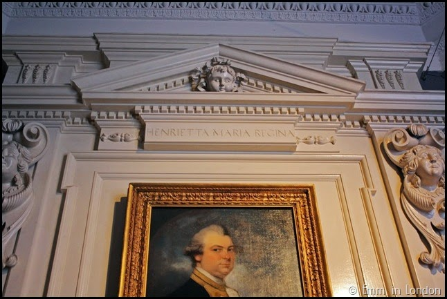 Henrietta Maria Regina keystone Queen's House