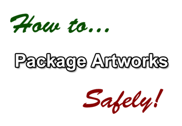 how to package artwork