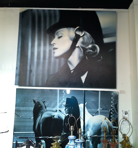 A pair of rare Madonna prints.
