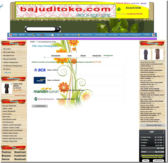 sampel prestashop layanan website design