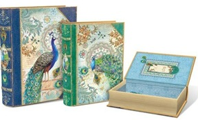 Royal Peacock storage boxes